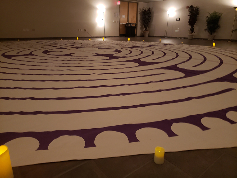 The labyrinth at the College of Professional Education