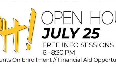 Open House – July 25