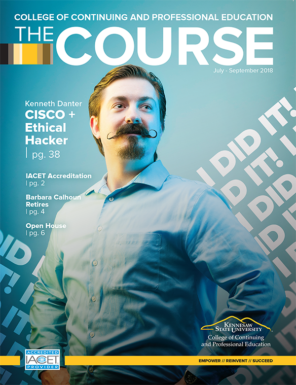 Kenneth Danter Ethical Hacker and Cisco CCNA grad catalog cover