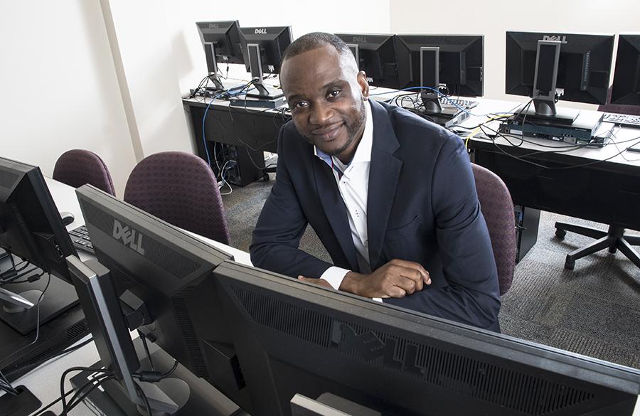 Abraham Okomanyi, Information Systems Security Professional Certificate graduate