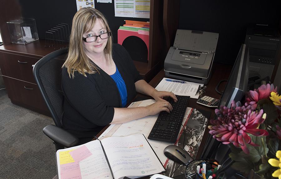Administrative Professional Graduate Julie Fowler
