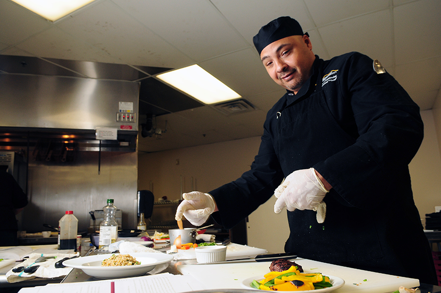 Chris Dargin Culinary Graduate
