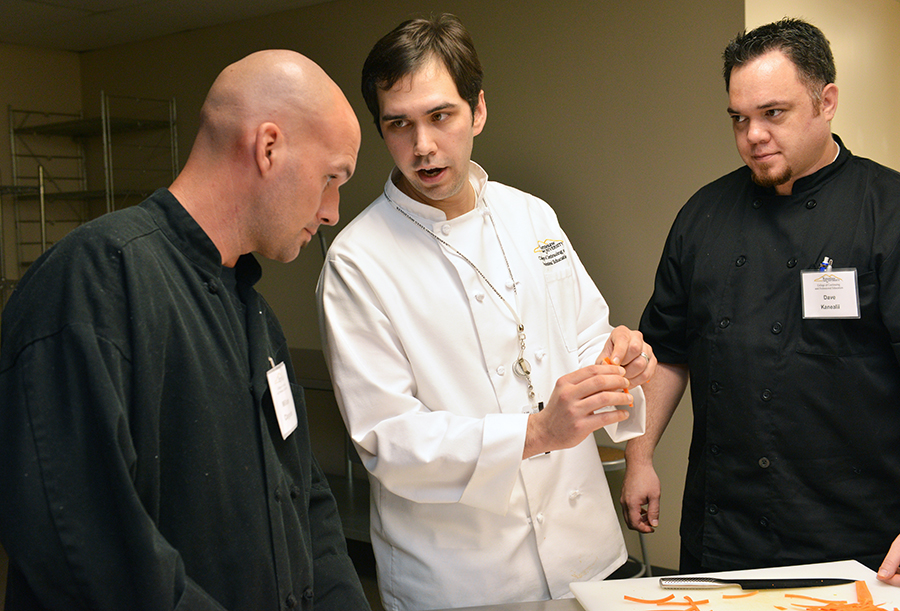 Frazer Breckenridge, Culinary instructor