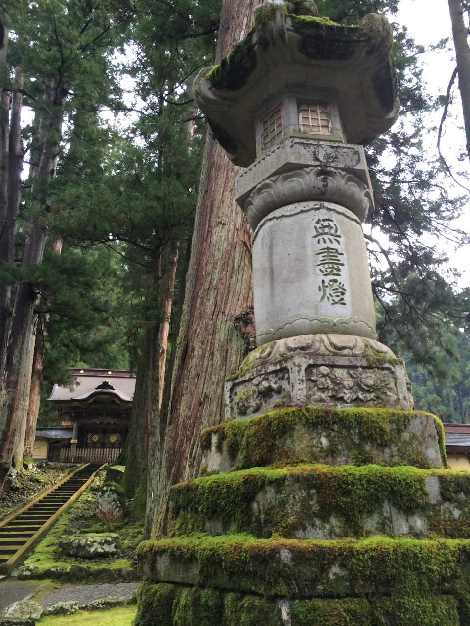 The Eihei-ji Temple is just north of Morgan's prefecture Fukui and is home to Zen Buddhism.