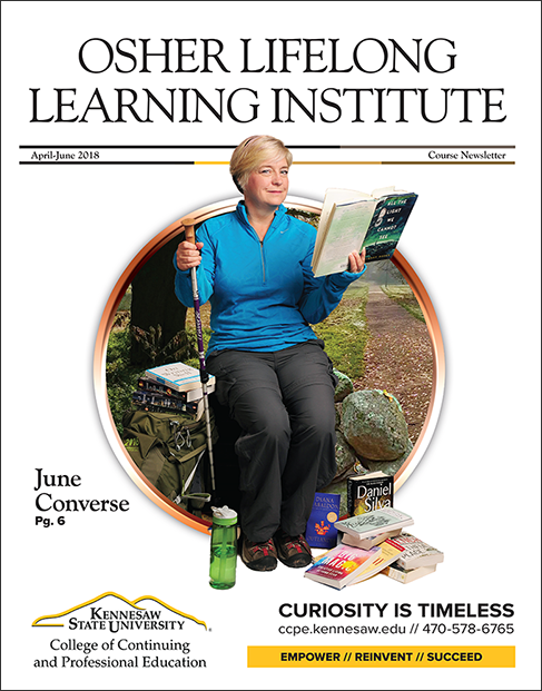 June Converse OLLI Newsletter Cover