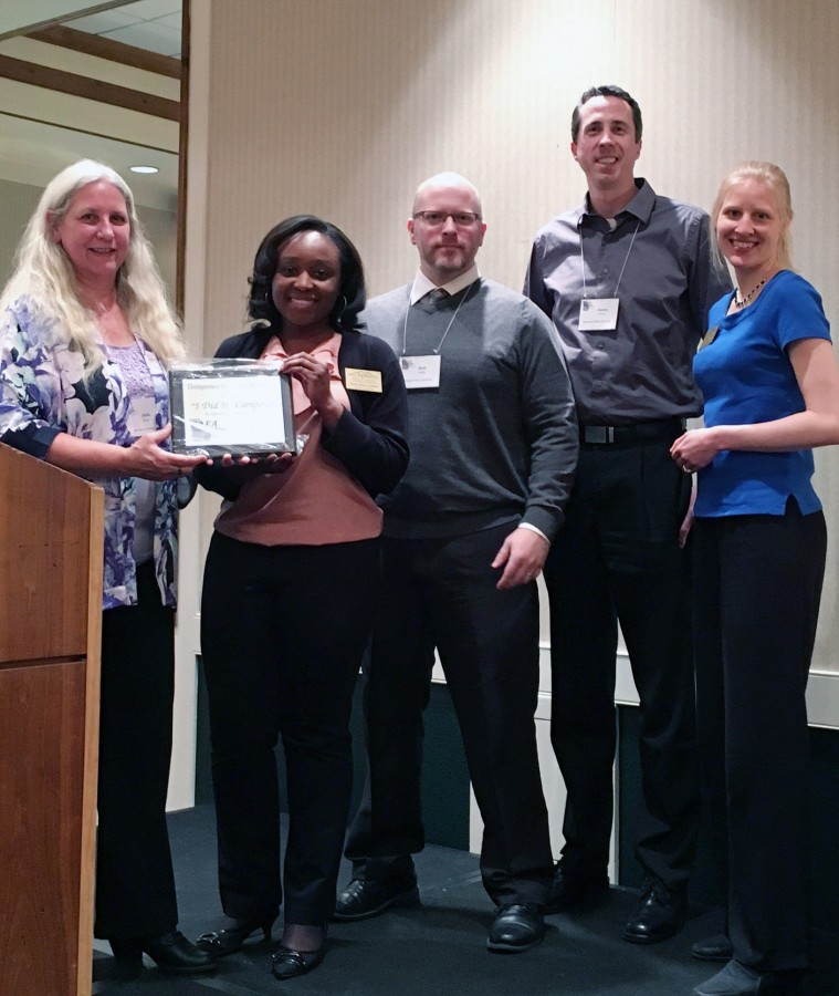 The Marketing team received GAEA's Innovative Marketing Award.