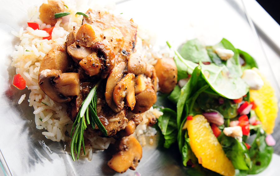 Pork and Coconut Rice