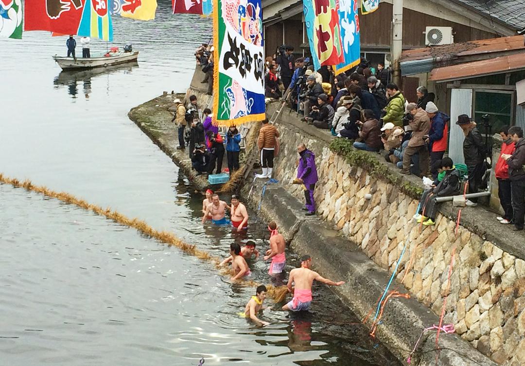 Swimming in Japan