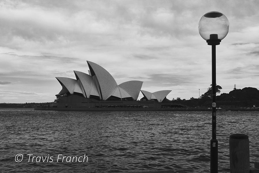 Australia's famous landmark, the Sydney Opera House