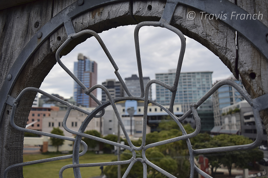 Cityscape in Wellington, the capital of New Zealand