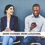Course catalog cover: More Locations. More Courses