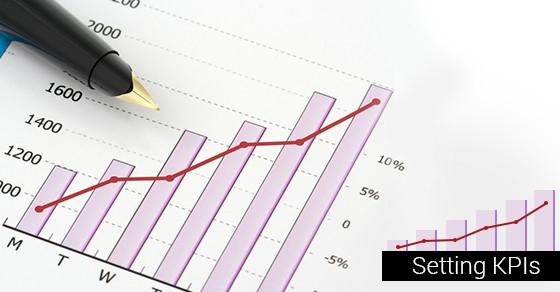 Bar graph with pen