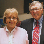"Chester ""Chet"" and Hazel Austin at KSU Center in 2013"